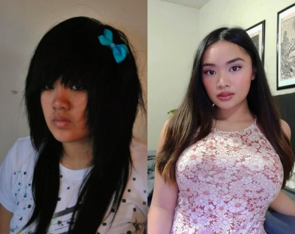 Girls Show Their Dramatic Changes