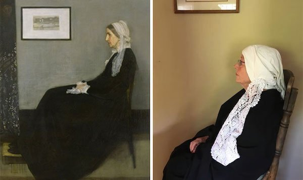 This 83-Year-Old Woman Does Art Recreation