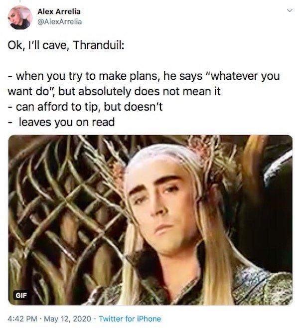 LOTR And Hobbit Tweets