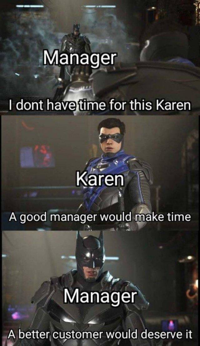 Karen Memes, part 3