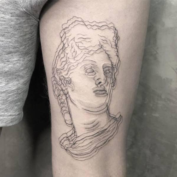 Blurred Tattoos By Yatzil Elizalde