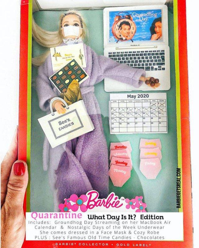 Quarantine Barbies