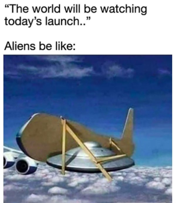 SpaceX Launch Memes