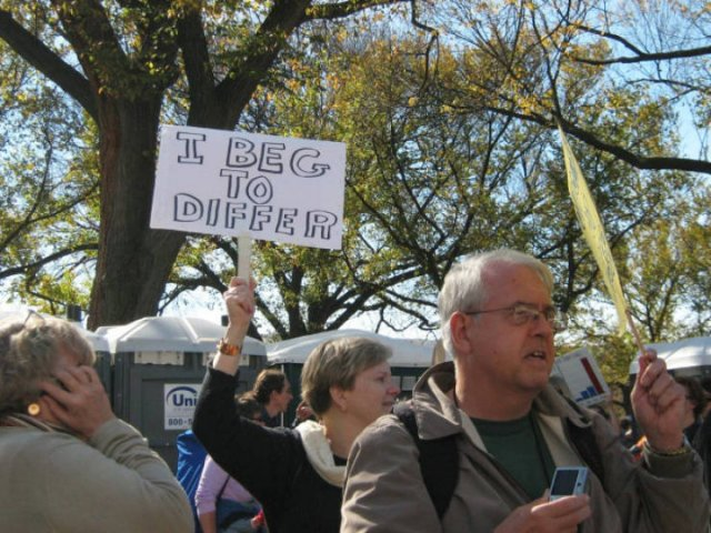 Protesters Signs