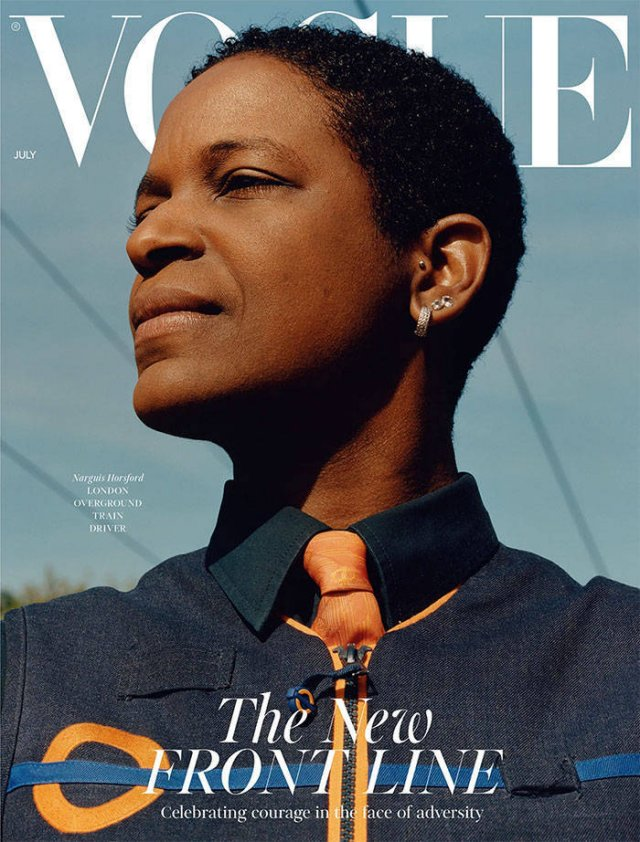 'Vogue' Covers With Essential Workers Instead Of Celebrities