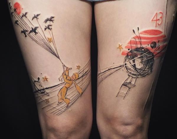 Split Tattoos