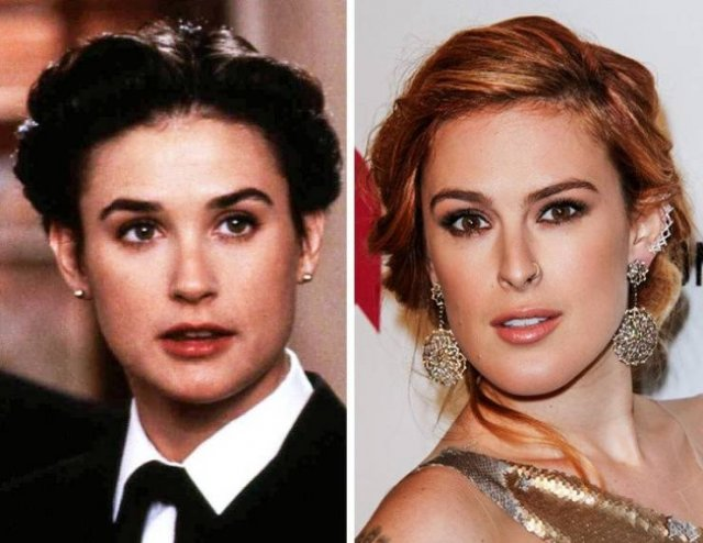 Celebrities And Their Kids At The Same Age