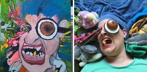Terrible Paintings Recreation