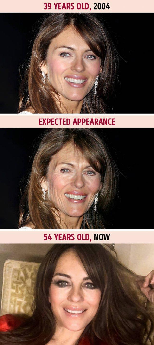 If Celebrities Aged Like Common People