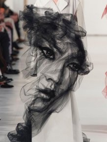 Portraits Created With An Iron And Netting
