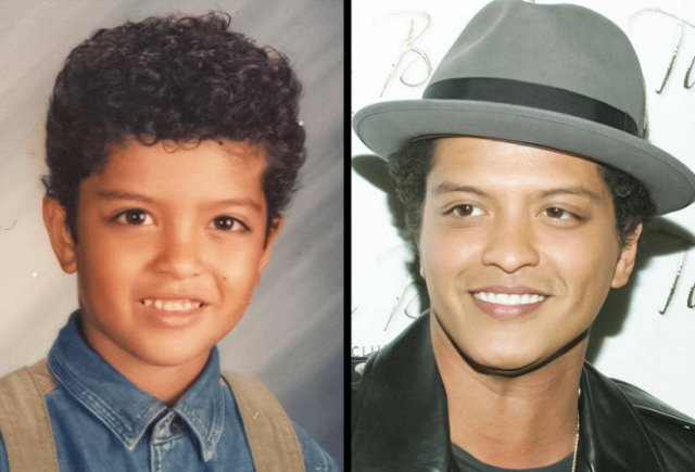 Celebrity Men: Then And Now