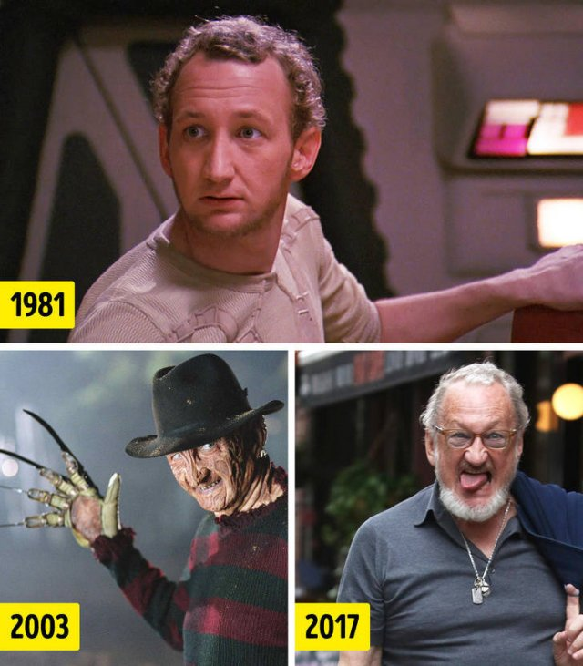 Actors Who Played Movie Villains: Then And Now