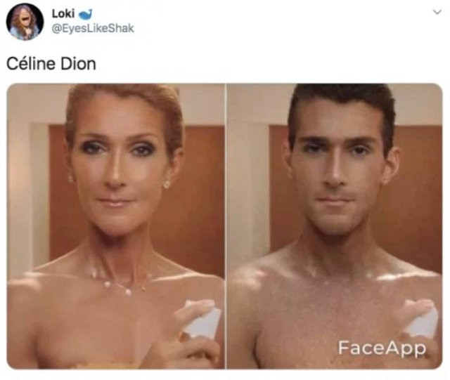 Celebrities: Gender Swap App