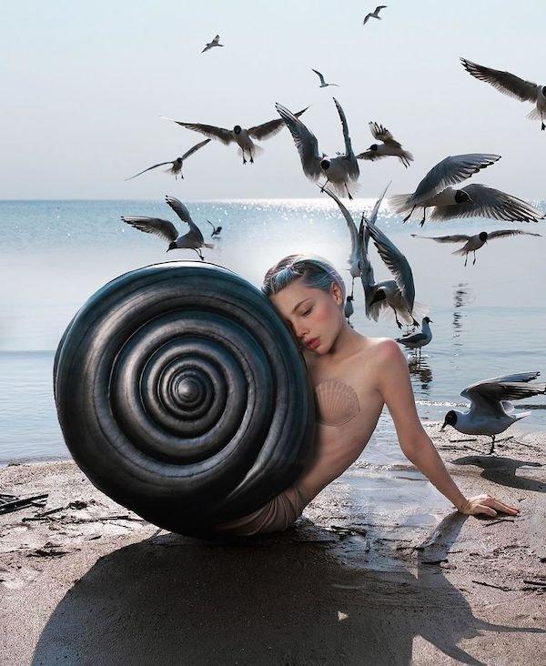 Amazing Art By Russian Model