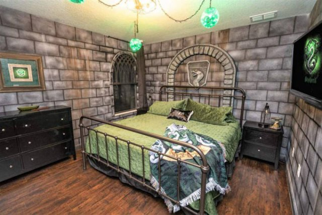 """Harry Potter"" Themed House"