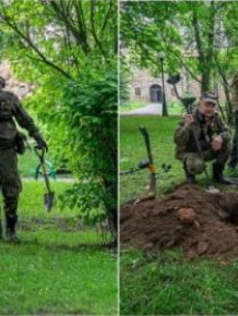 World War II Treasure Found Among The Ruins Of A XIV-Century Castle