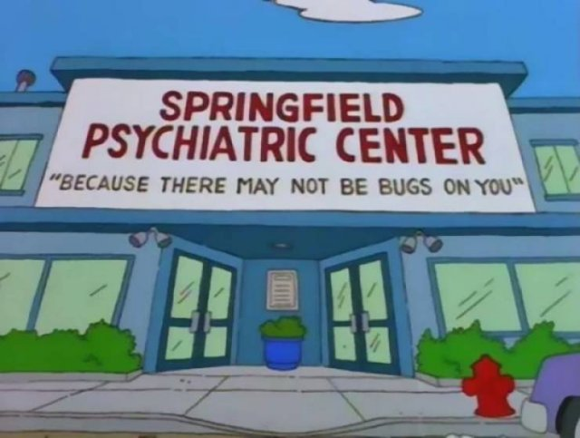 """The Simpsons"" Signs"