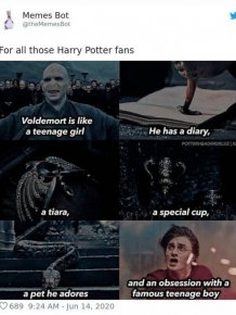 Harry Potter Tweets