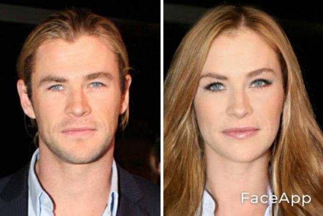 Gender Swap Celebrities