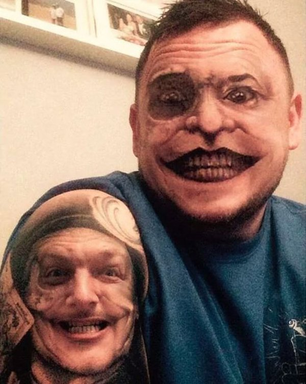 Face-Swapping Tattoos