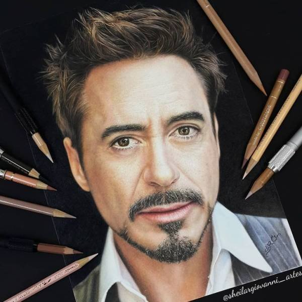Celebrity Paintings By Sheila Giovanni