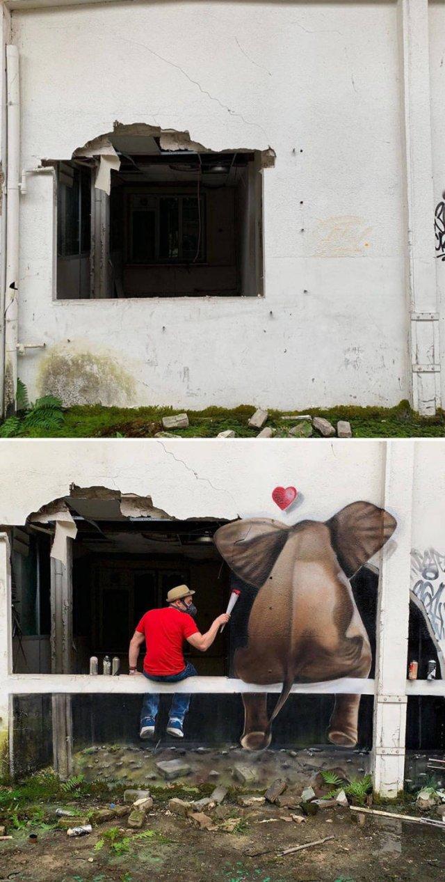 3D Street Art By Scaf Oner