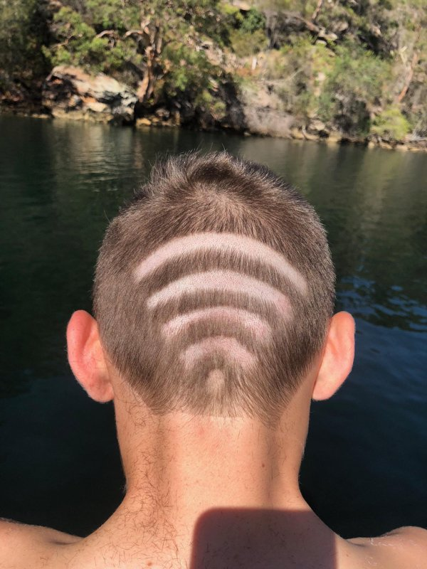 Weird Haircuts, part 4