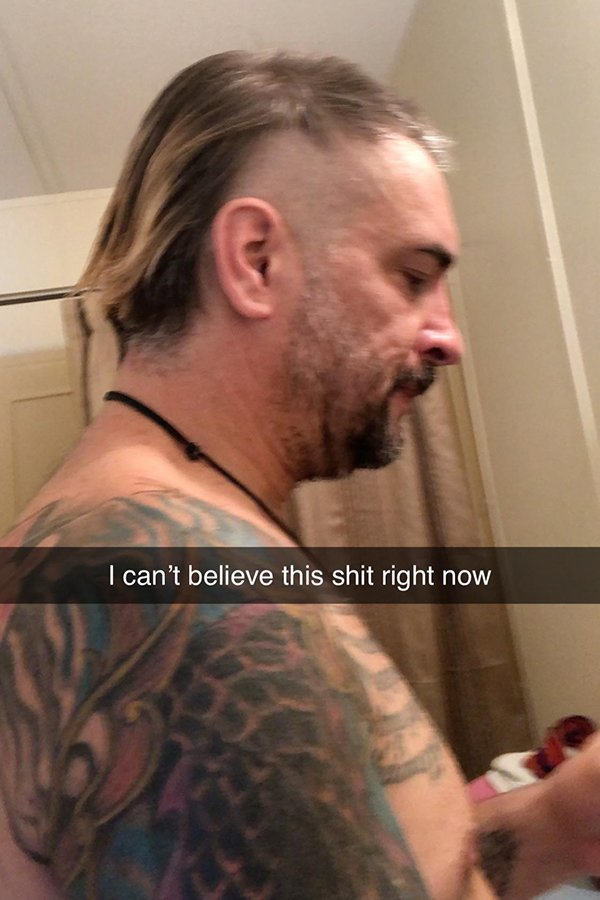 Weird Haircuts, part 4