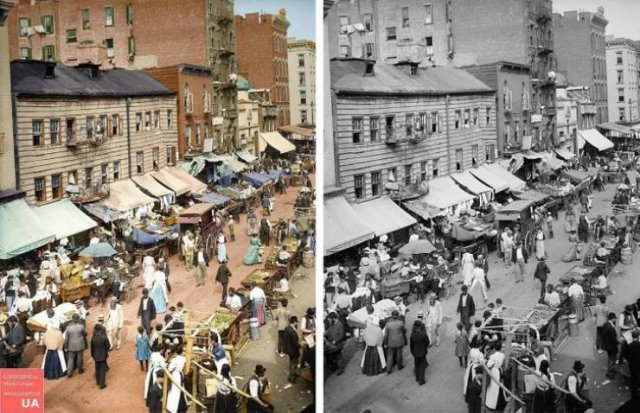 Colorized And Restored Vintage Photos By Mario Unger