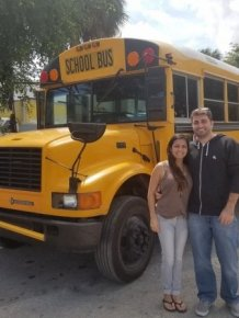 Old School Bus Was Transformed Into A Luxury Home