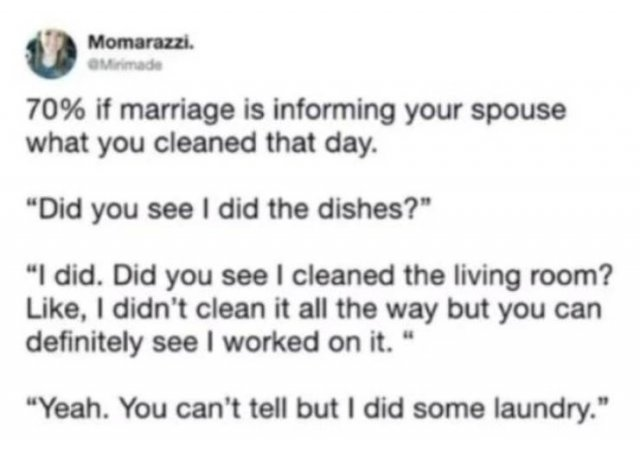 Marriage Humor