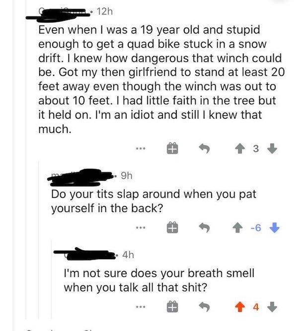 Sarcastic Comments, part 16