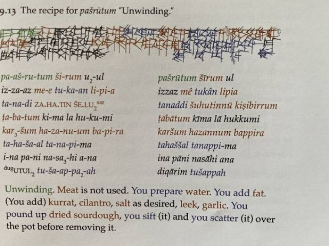 4000-Year-Old Babylonian Recipes