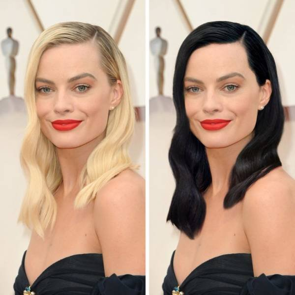 If Celebrities Would Have Different Hairstyles