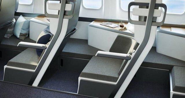 New Design Of Economy Class Airplane Seats