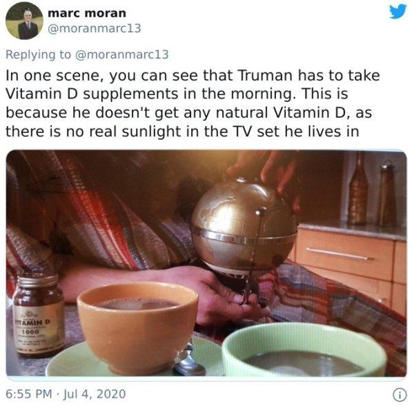 'The Truman Show' Hidden Details
