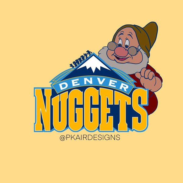 NBA Logos Reimagined As Disney Characters