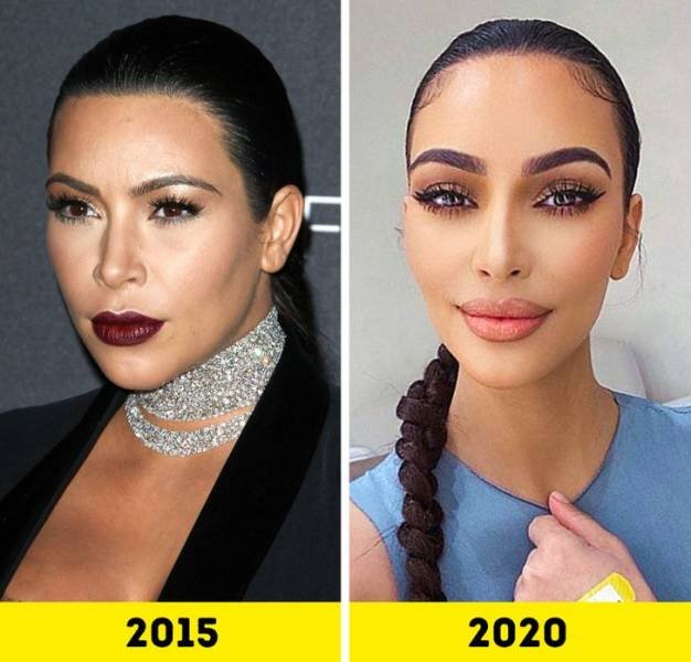 Celebrities Changed A Lot Over The Last Five Years