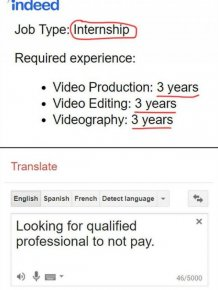 Job Expectations Fails