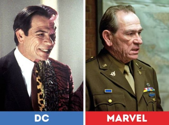 Actors And Actresses Who Starred Both In 'Marvel' And 'DC' Movies