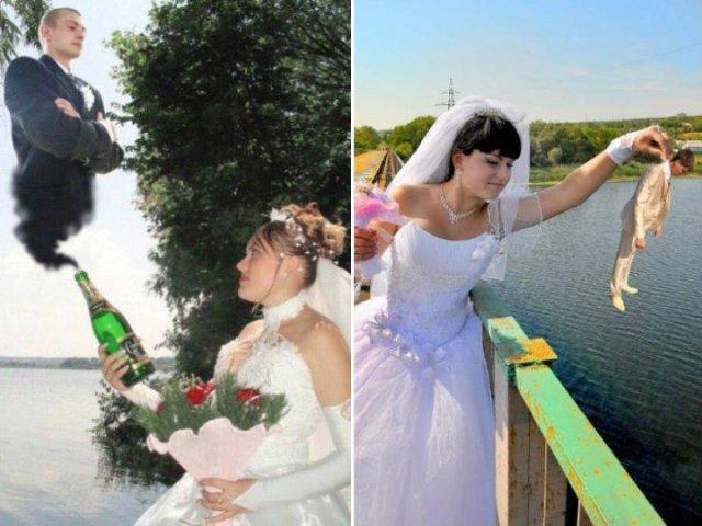 Russian Wedding Photoshop Fails