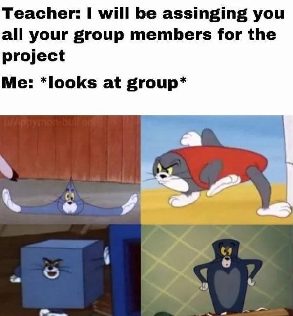Group Projects Humor