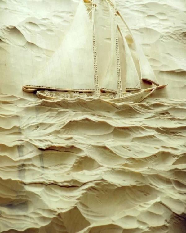 Wooden Art By Evgeny Dubovik