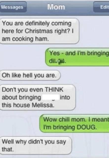 Awkward Text Messages
