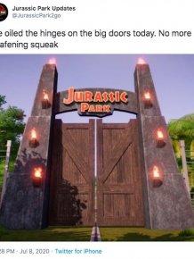 'Jurassic Park Updates' Tweets