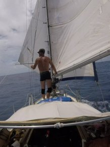 This Man Sailed Across The Ocean To Reach His 90-Year-Old Father During Lockdown