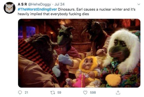The Worst Movie Endings