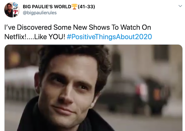 Positive Things About 2020, part 2020