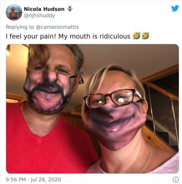 Custom Face Masks Fails