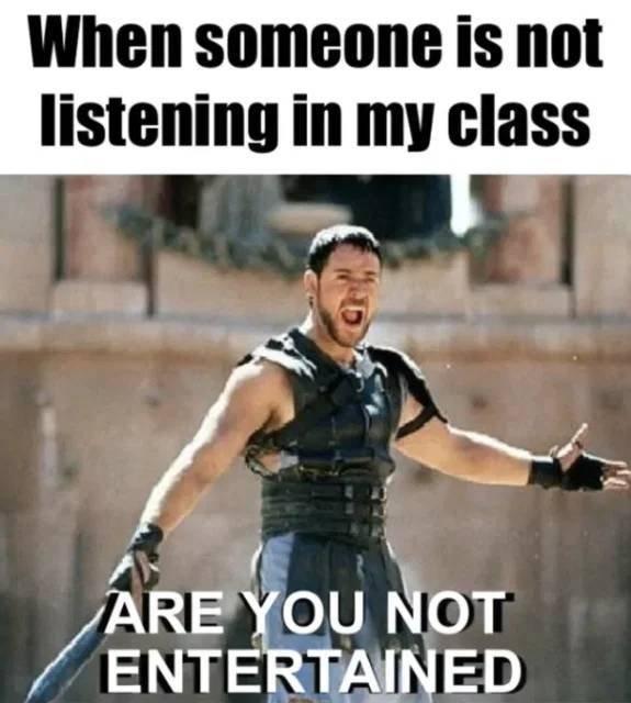 Memes About Teachers, part 2